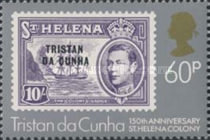 [The 150th Anniversary of St. Helena as British Colony, type LM]