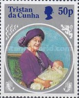 [The 85th Anniversary of the Birth of Queen Elizabeth The Queen Mother, 1900-2002, type MK]