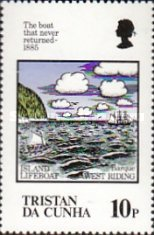 [The 100th Anniversary of Loss of Lifeboat from Tristan da Cunha, type MQ]