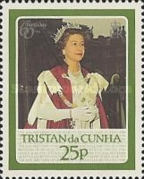 [The 60th Anniversary of the Birth of Queen Elizabeth II, type MZ]