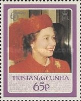 [The 60th Anniversary of the Birth of Queen Elizabeth II, type NB]