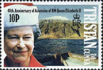 [The 40th Anniversary of Queen Elizabeth II's Accession, type RN]