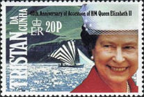 [The 40th Anniversary of Queen Elizabeth II's Accession, type RO]