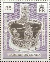 [The 40th Anniversary of Coronation of Queen Elizabeth II, type SF]
