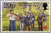 [The 50th Anniversary of End of Second World War, type TQ]