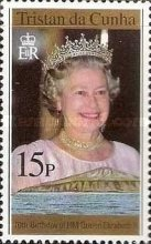 [The 70th Anniversary of the Birth of Queen Elizabeth II, type UD]