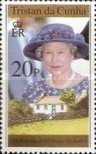 [The 70th Anniversary of the Birth of Queen Elizabeth II, type UE]