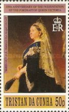 [The 100th Anniversary of the Presentation of the Queen Victoria Portrait to Tristan, type US]