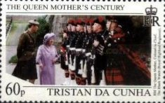 [The 99th Anniversary of the Birth of Queen Elizabeth The Queen Mother, 1900-2002, type WZ]