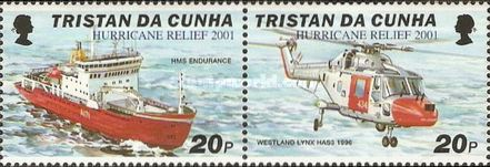 [Hurricane Relief - Issues of 2000 Overprinted