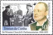 [The 100th Anniversary of Winston Churchill's Election to Parliament, type ZK]