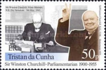 [The 100th Anniversary of Winston Churchill's Election to Parliament, type ZL]