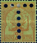 [Postage Stamps No. 18-24 & 26 with Perforated