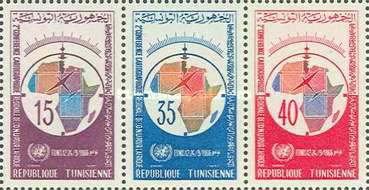 [The 2nd U.N. African Regional Cartographic Conference, Tunisia, type ]