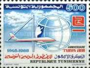 [The 40th Anniversary of Tunis Air, type ABP]