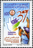 [The 37th World Scout Conference, Tunisia, type ASD]