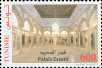 [The Palace of Tunisian Beys, type BAH]