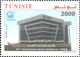 [The 70th Anniversary of the Tunisian Union of Industry, Commerce and Handicrafts, type BCT]