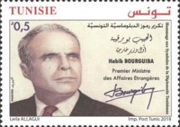 [Habib Bourguiba - First Minister of Foreign Affairs, type BEL]