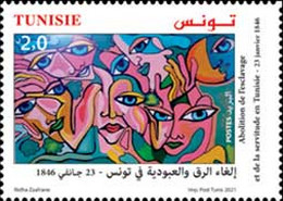 [The 175th Anniversary of the Abolition of Slavery and Servitude in Tunisia, type BHG]