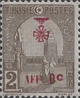 [War Wounded Fund - Stamps of 1906 Surcharged, type E8]