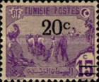 [Issue of 1906 Surcharged, type F12]