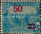 [Stamps of 1906 Surcharged, type F22]