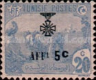 [War Wounded Fund - Stamps of 1906 Surcharged, type F24]