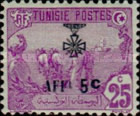 [War Wounded Fund - Stamps of 1906 Surcharged, type F25]