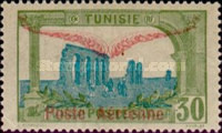 "[Airmail - Issue of 1906 Overprinted ""Poste Aerienne"" and Wings or Surcharged 30c, type G11]"
