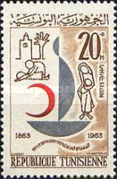 [The 100th Anniversary of International Red Cross, type HG]