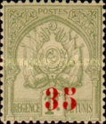 [Issues of 1888 and 1893 Surcharged, type I1]