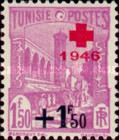 [Red Cross - Surcharged, type N42]