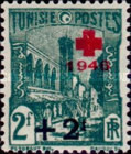 [Red Cross - Surcharged, type N43]