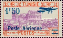 [Airmail - Issues of 1928 Surcharged, type O12]