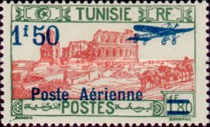 [Airmail - Issues of 1928 Surcharged, type O13]