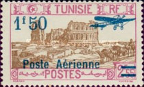 [Airmail - Issues of 1928 Surcharged, type O14]