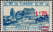 [Previous Stamps Surcharged, type O25]