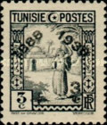 [Tunisian Postal Service - Issues of 1931 Surcharged, type Q7]