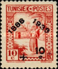 [Tunisian Postal Service - Issues of 1931 Surcharged, type Q9]