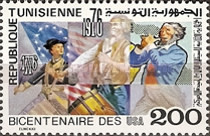 [The 200th Anniversary of Independence of the United States of America, type QU]