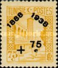 [Tunisian Postal Service - Issues of 1931 Surcharged, type S5]