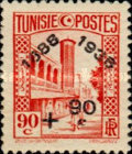 [Tunisian Postal Service - Issues of 1931 Surcharged, type S6]
