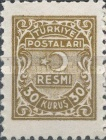 [Official Stamps, Typ A8]