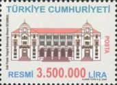 [Official Stamps - Buildings, Typ BX]
