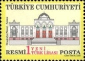 [Official Stamps - Buildings, Typ CD]