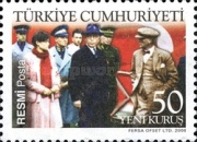 [Official Stamps - Kemal Atatürk, 1881-1938, Typ CX]