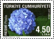 [Official Stamps - Flowers, Typ DH]
