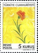[Official Stamps - Flowers, Typ DP]