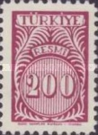 [Numeral Stamps, Typ E10]